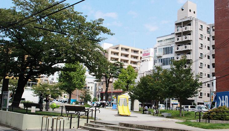 【写真】福岡市中央区 今泉公園り周辺