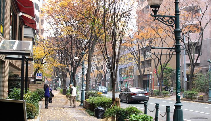 【写真】福岡市中央区警固サニー周辺