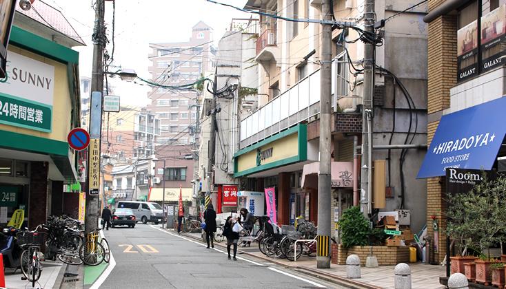 【写真】福岡市中央区警固けやき通り周辺