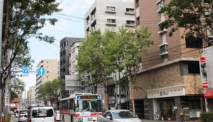 【写真】福岡市中央区 薬院六つ角あたりの画像