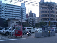 【写真】森 駐車場