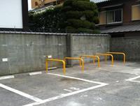 【写真】たちばな駐車場バイク専用